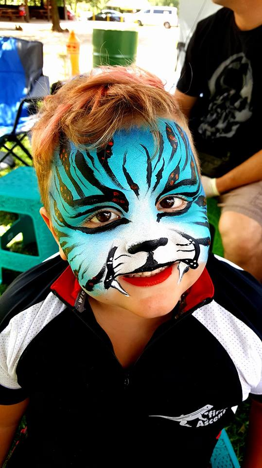 Tiger Boys Face Paint