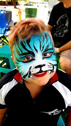 Tiger Boys Face Paint
