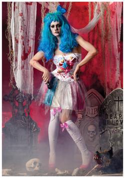 Zombie California Candy Costume