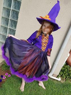 Witch Kids Halloween Costume