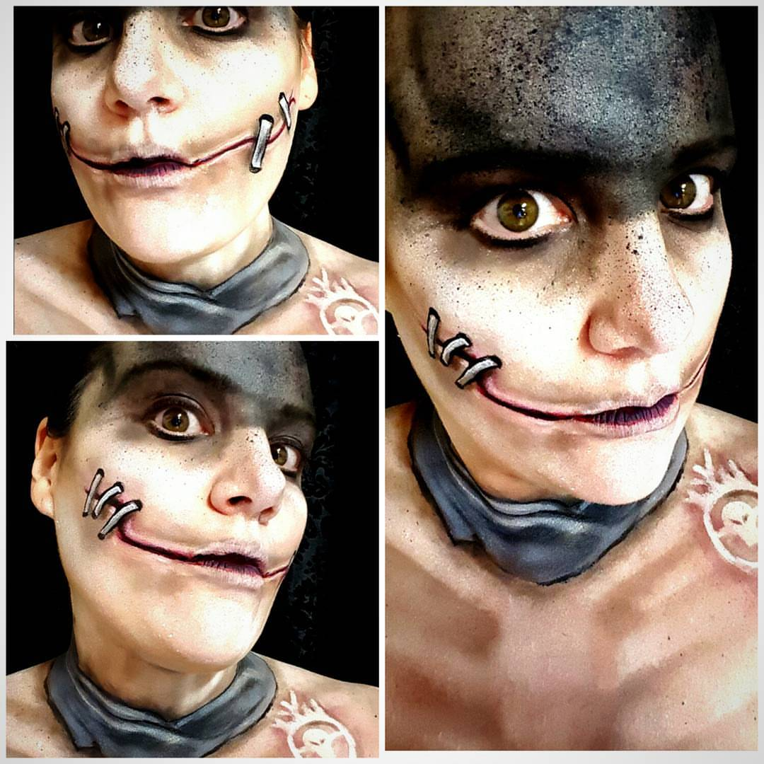 Mad Max Halloween Makeup