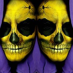 Skeletor Halloween Makeup