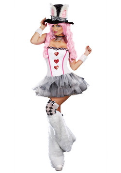 Womens Lost in Wonderland Costume