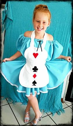 Kids Alice Costume