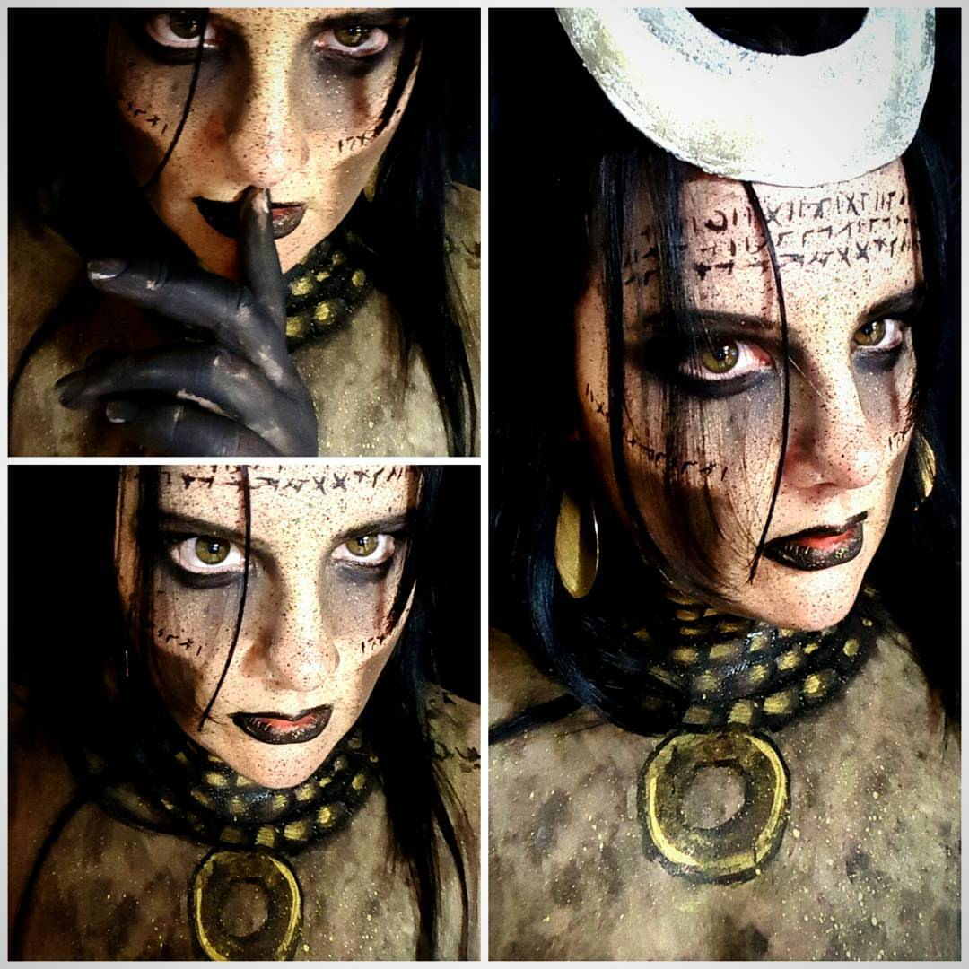Enchantress Halloween Makeup