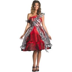 Alice Red Court Costume