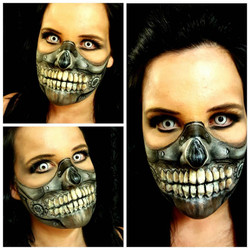 Mad Max Immortan Joe Makeup