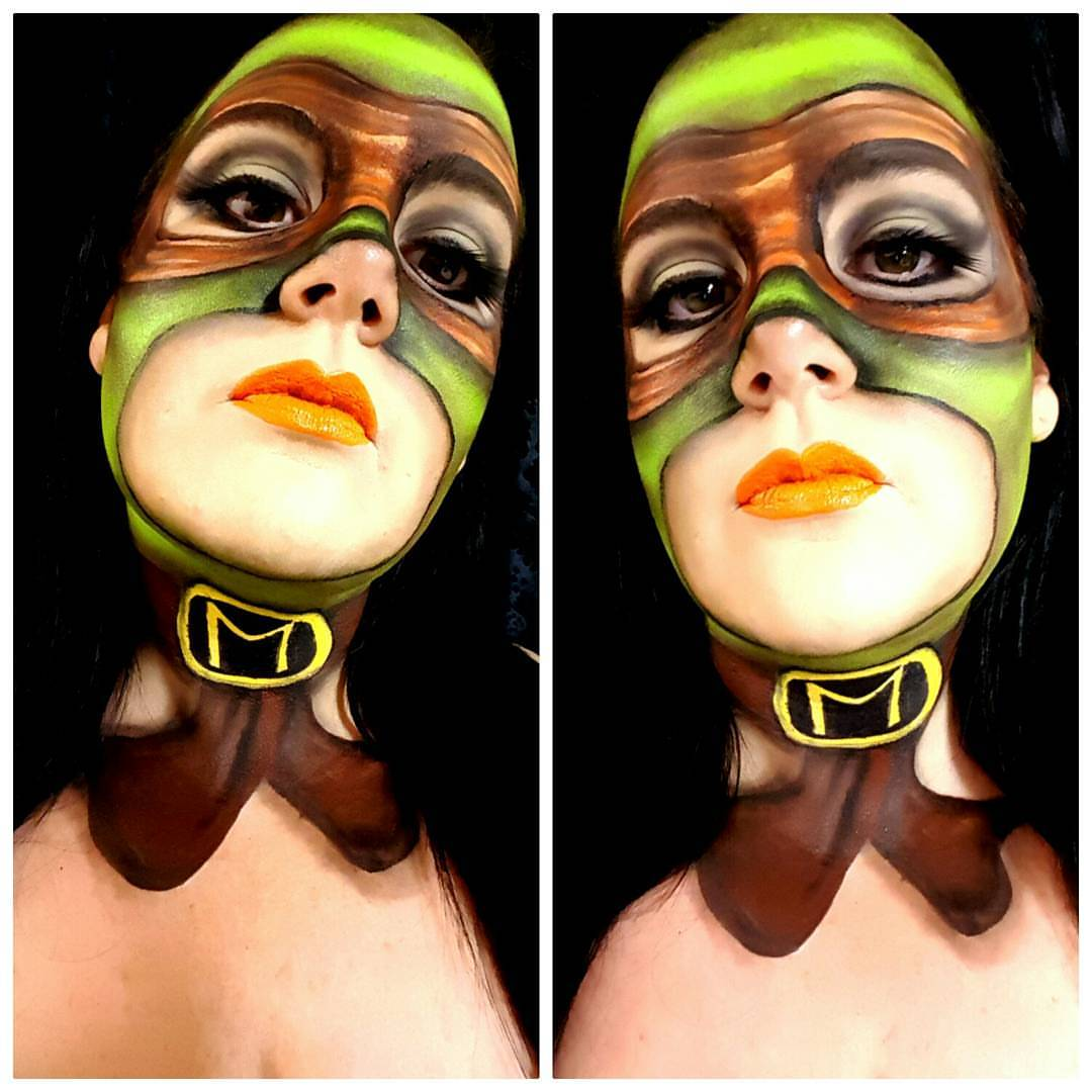 Ninja Turtles Halloween Makeup