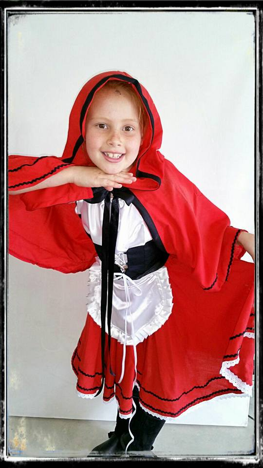 Red Riding Hood Kids Costume