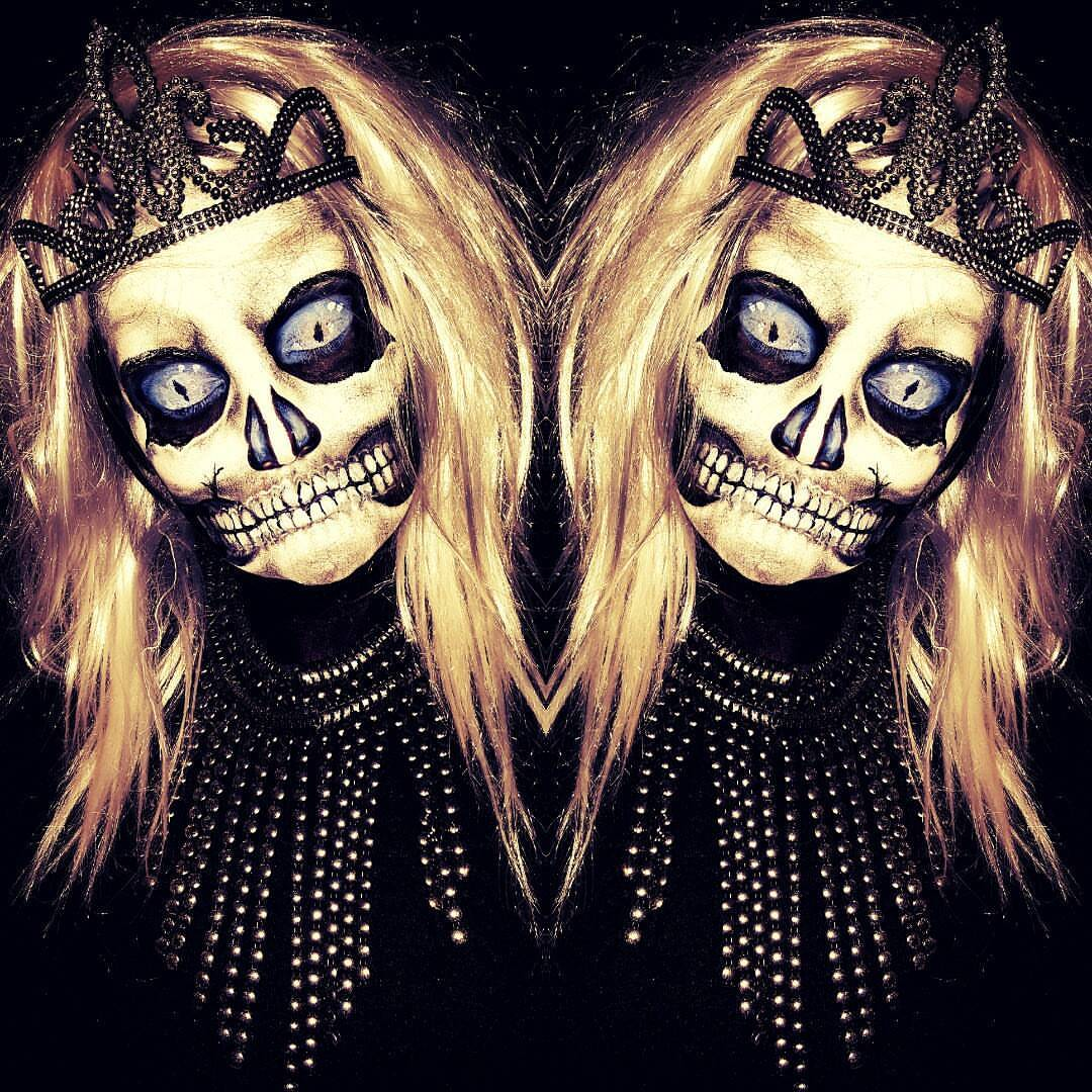 Skull Halloween Face Paint