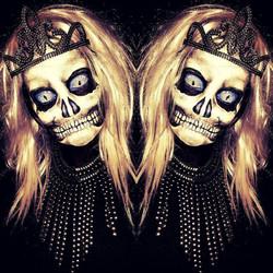 Skull Halloween Face Paint