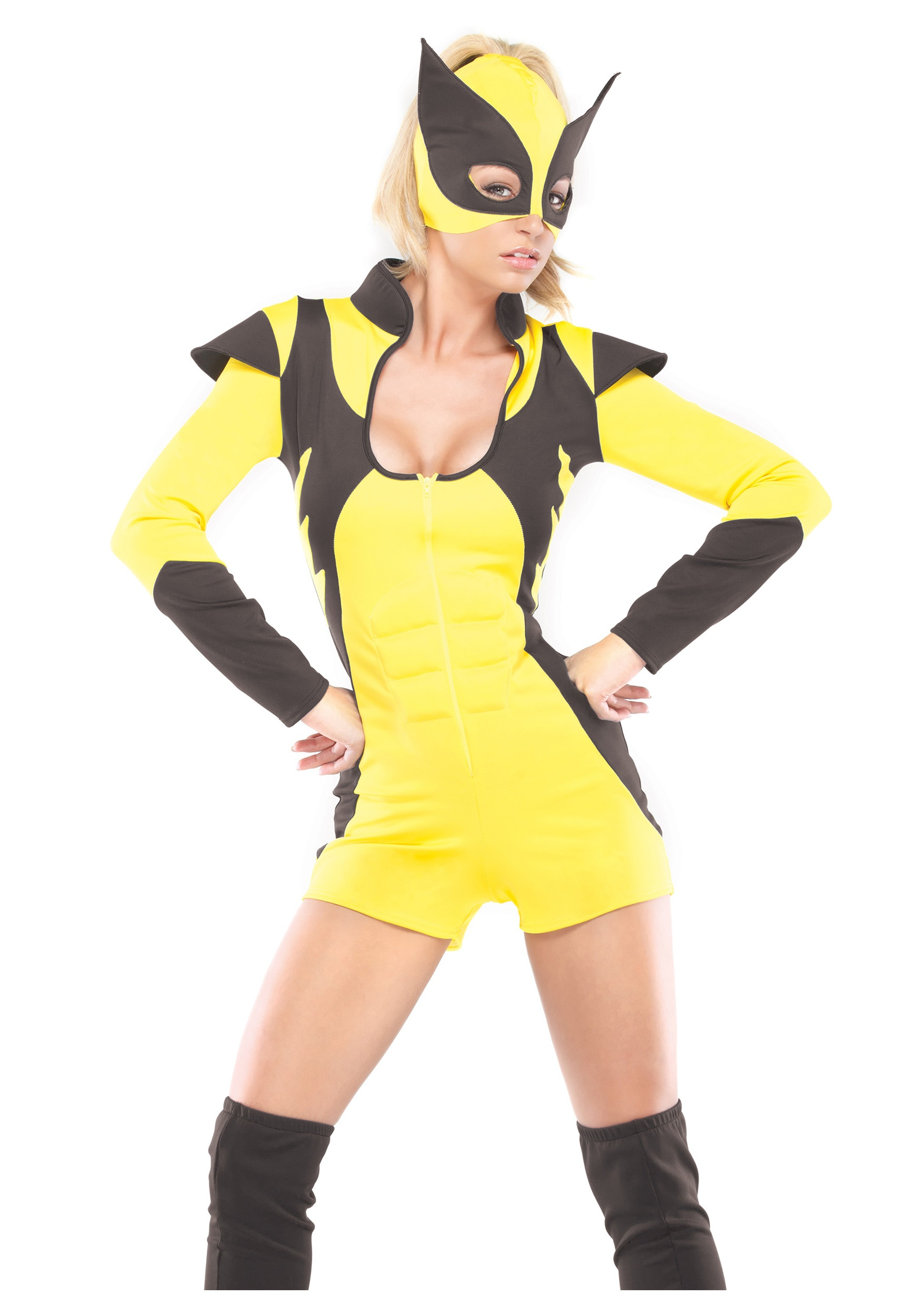 Womens Sexy Superhero Costume