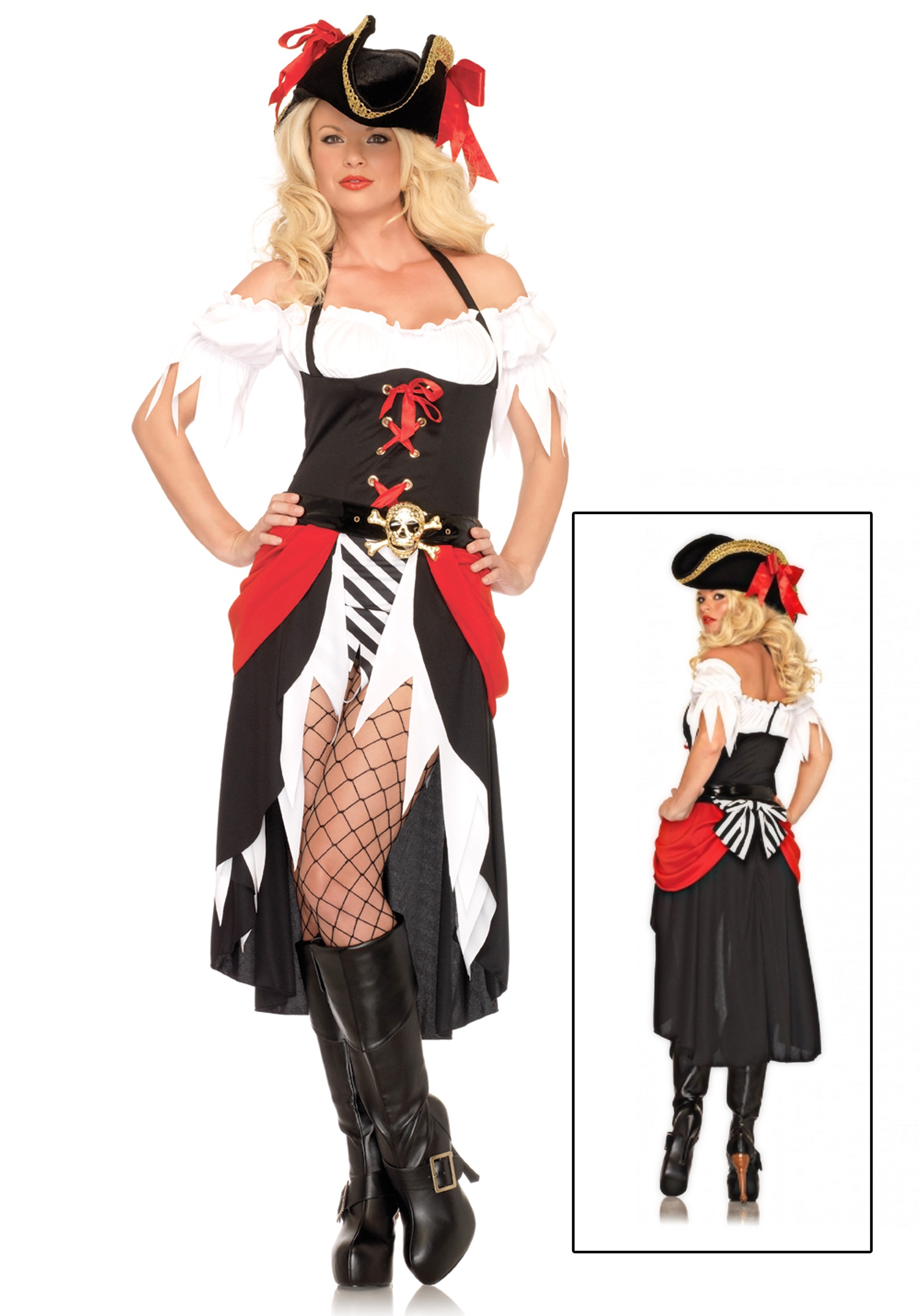 Sexy pirate Dress Costume