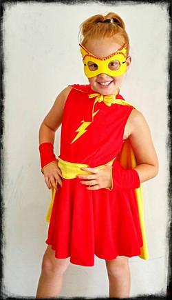 Kids Little Miss Flash Kids Costume