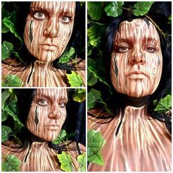 Mother Earth Halloween Makeup