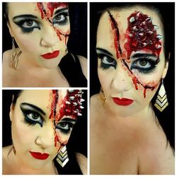 Punk Special Effects Halloween Makeu