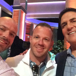 Mark Cuban with Jeremy Ostermiller