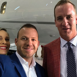 Peyton Manning and Jeremy Ostermiller
