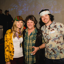 YPO event | Jeremy Ostermiller with the founder of Woodstock, Michael Lang