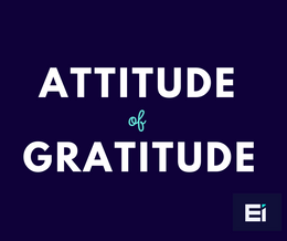 Adopt an Attitude of Gratitude for Sales Success