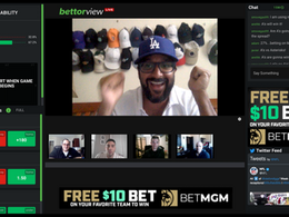 A New Interactive Video Conferencing Platform Centered on Sports Betting, BettorView Live