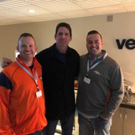 Jeremy Ostermiller, Ed McCaffrey and Nick Stanitz-Harper