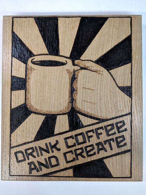 Drink Coffee and Create 2