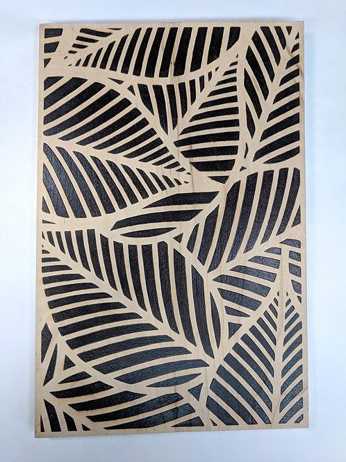 Leaf Pattern on Elm