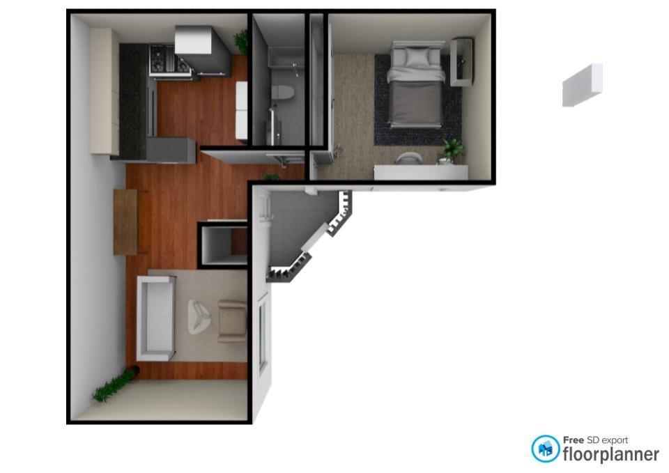 1 Bedroom Apartments