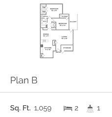 Trailing Vine Floor Plan, Apartments