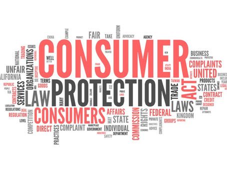 CONSUMER COMPLAINT : CONSUMER PROTECTION ACT