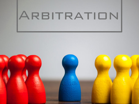 ARBITRATION LAW : AN OVERVIEW