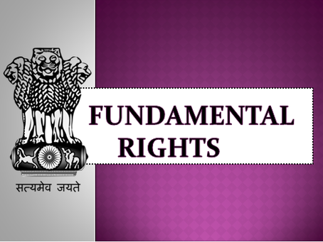 BORN WITH IT: FUNDAMENTAL RIGHTS