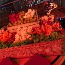 Buffet de légumes à croquer