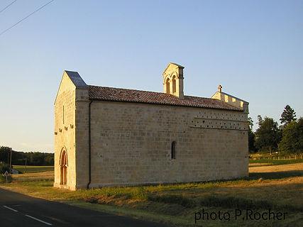 La chapelle est un cadran solaire