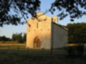 le portail avant la restauration des colonnettes