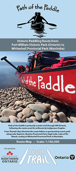Path of the Paddle Route Map