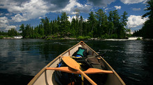Path of the Paddle in Canadian Geographic