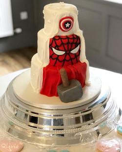 Superhero Wedding Cake 1