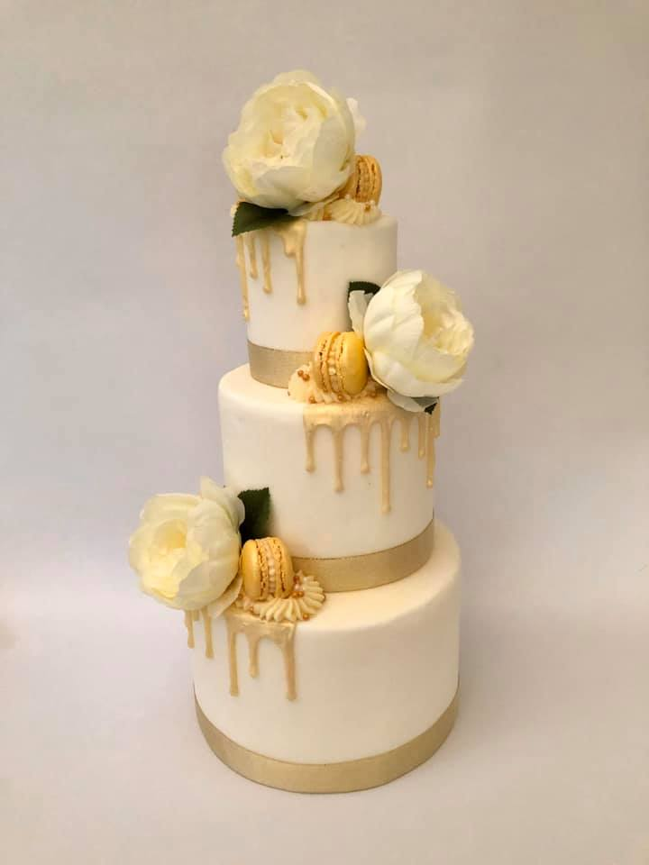 Wedding Cake Drip