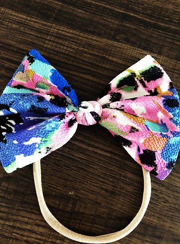 Special Print Petite Bows