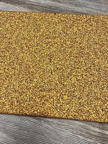 Gold Faux Glitter