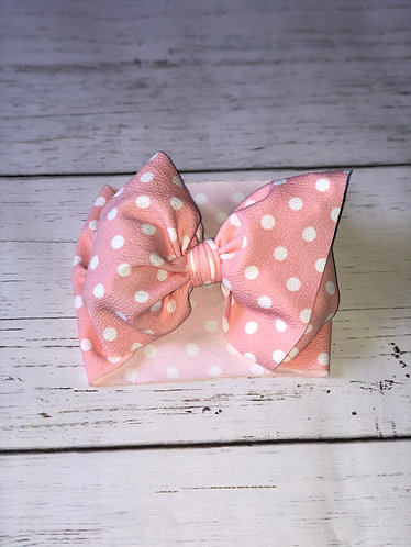 Light Pink Polka Dot