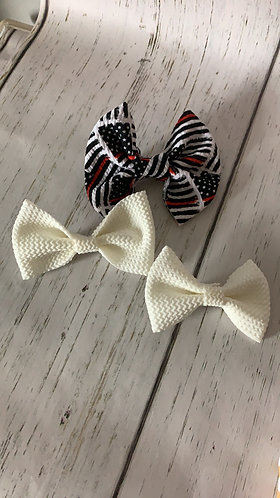 BOWS FOR BROS & ADULTS (Bow ties w clip)