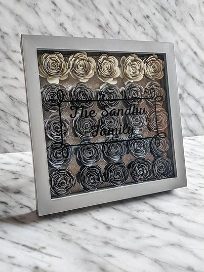 Full Floral Frame & Design