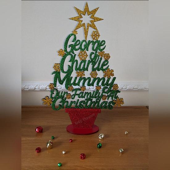 Christmas Tree Plaque
