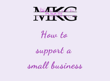 How to support a small business