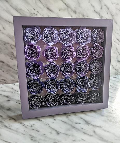 Full Floral Frame