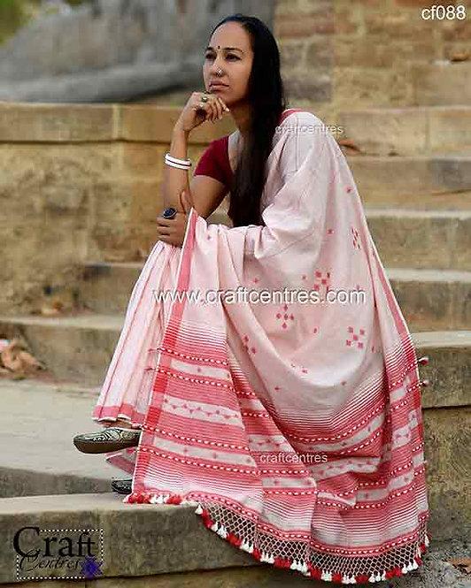 hand weaving bhujodi saree