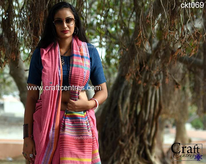 silk with cotton handloom bhujodi saree
